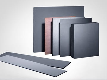 Friction material sheets