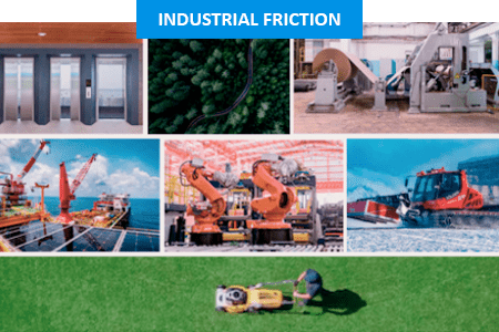 Industrial friciton